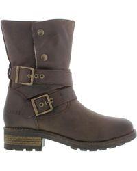 Oak & Hyde - Bridge Demi Leather Boots - Lyst