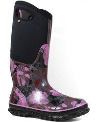 Bogs - Classic Vintage Floral Neoprene Wellies Rain Boots - Lyst