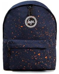231a05330af8 Hype Burgundy blue Speckle Backpack in Purple for Men - Lyst