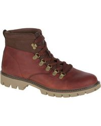 Caterpillar | Crux Leather Ankle Boots | Lyst