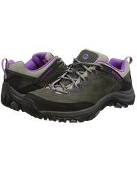 Merrell - Salida Trekker Leather Walking Trainers - Lyst