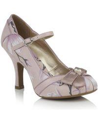 Ruby Shoo Cleo Vegan Heels Court Shoes