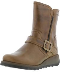 Fly London - Seku Gtx Waterproof Warm Lined Leather Boots - Lyst