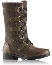 Sorel - Emelie Lace Waterproof Winter Snow Boots - Lyst
