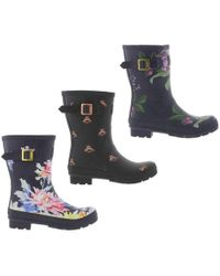 Joules - Molly Welly Wellingtons - Lyst