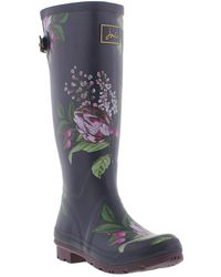 Joules - Welly Print Wellingtons - Lyst