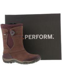 Merrell - Dewbrook Apex Zip Waterproof Boots - Lyst