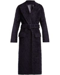 JOSEPH - Paddington Belted Alpaca Blend Coat - Lyst