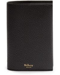 Mulberry - Grained-leather Passport Holder - Lyst