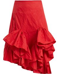 Marques'Almeida - Melted Frill Ruffle Skirt - Lyst