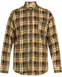 Isabel Marant - Rikers Check Wool Blend Shirt - Lyst