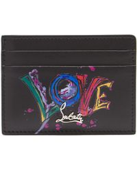 Christian Louboutin - Kios Love Leather Cardholder - Lyst