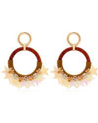 Lizzie Fortunato - Starry Night Hoop Earrings - Lyst