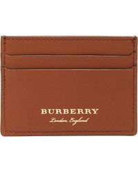 Burberry - Trench Textured-leather Cardholder - Lyst