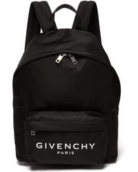 Givenchy - Urban Leather Trimmed Backpack - Lyst