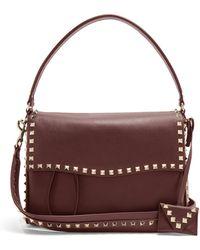 Valentino - Rockstud Leather Bag - Lyst