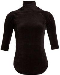 Vetements - X Juicy Couture Cotton-blend Velour Top - Lyst