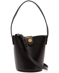 Sophie Hulme - - Nano Swing Leather Bucket Bag - Womens - Black - Lyst