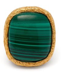 Aurelie Bidermann - Miki 18kt Gold Plated Ring - Lyst