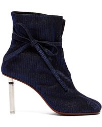 Vetements - Geisha Split Toe Lighter Heel Ankle Boots - Lyst