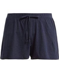 Skin - Orella Pima-cotton Shorts - Lyst