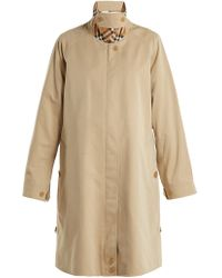 Burberry - Crowhurst Cotton Trench Coat - Lyst