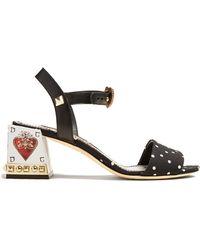 Dolce & Gabbana - Polka-dot Print Sandals - Lyst