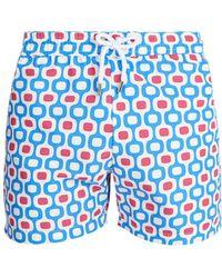 Frescobol Carioca - Sports Ipanema-print Swim Shorts - Lyst