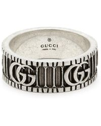 4790aa5cbdd Gucci - Double G Ring - Lyst