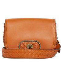 a1c37d500da3 Bottega Veneta - Bv Luna Leather Cross Body Bag - Lyst