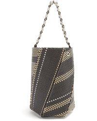 Proenza Schouler - Hex Medium Raffia Bucket Bag - Lyst