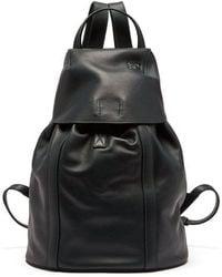 Loewe - Leather Backpack - Lyst