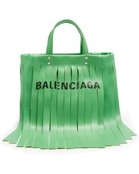Balenciaga | Laundry Fringes Xs Bag | Lyst
