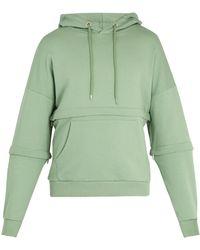 Cottweiler - Off Grid Cotton Jersey Hooded Sweatshirt - Lyst