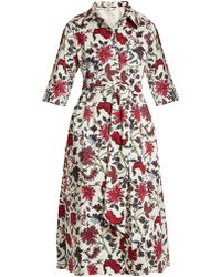 Diane von Furstenberg | Canton-print Stretch-cotton Dress | Lyst