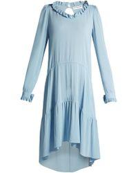 Balenciaga - V-neck Dress - Lyst