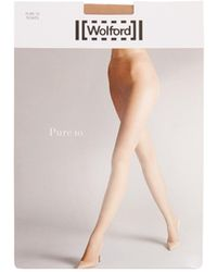 Wolford | Pure 10 Tights | Lyst