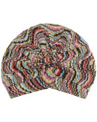 Missoni | Waved Knitted Turban | Lyst