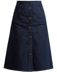 M.i.h Jeans - Calcott Denim Skirt - Lyst
