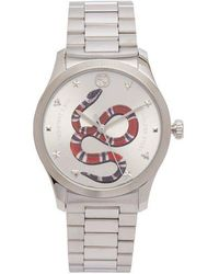 Gucci - G-timeless Tiger Face Watch - Lyst
