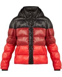 Proenza Schouler - Striped Quilted Down Filled Jacket - Lyst