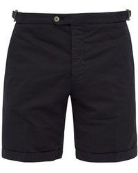 Thom Sweeney - Tailored Cotton Blend Bermuda Shorts - Lyst