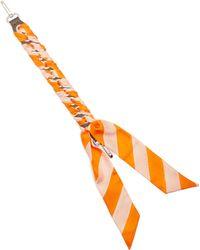 Fendi - Strap You Whipstitched Ribbon Short Bag Strap - Lyst