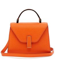 Valextra - Iside Micro Grained Leather Bag - Lyst