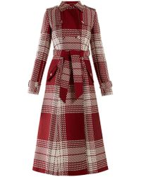 Gabriela Hearst - Cassatt Checked Wool Coat - Lyst