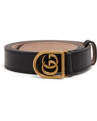 a49bb998126 Gucci Wolf-head Elasticated Belt in Black for Men - Lyst