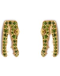 Marc Alary | Diamond & Yellow-gold Earrings | Lyst