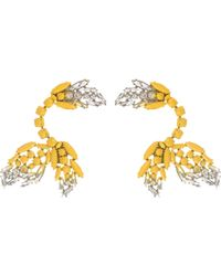 Marni - Painted Crystal Clip Ear Cuffs - Lyst