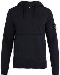 Stone Island - Mock-neck Drawstring Hooded Sweater - Lyst
