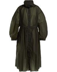 Lemaire - Hooded Parachute Parka Coat - Lyst